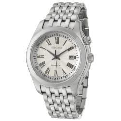Seiko Men&#39;s Kinetic Stainless Steel Watch