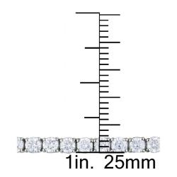 Miadora 14k Gold 4 1/3ct TDW Diamond 7.25-inch Tennis Bracelet (G-H, SI1-SI2)