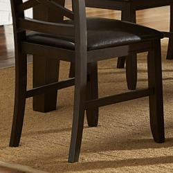 Callington Rich Espresso X Back Mission Side Chair (Set of 2)