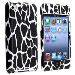 Black Giraffe Snap-on Case for Apple iPod Touch Generation 4
