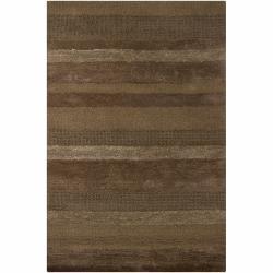 Hand-tufted Mandara Wool Rug (5' x 7'6)