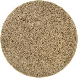 Hand-woven Natural Quintess Jute Rug (6' Round)