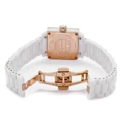 Invicta Women's 'Ceramics' White Ceramic Watch