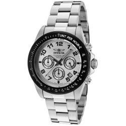 Invicta Men's 'Speedway' Stainless Steel Watch