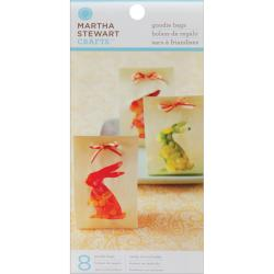 Martha Stewart Crafts Easter and Springtime Goodie Bags with Ribbon (Pack of 8)