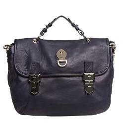 Mulberry Blue Tillie Satchel Handbag