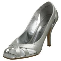 Rampage Women's 'Maycee' Grey Patent Women's Heels