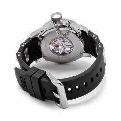 Invicta Women's 'Russian Diver' Black Polyurethane Watch