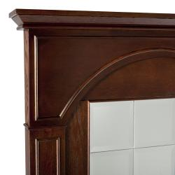 angelo:Home Summerfield Mirrored Mantel Facade