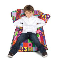 Sitting Bull Mini ABC Fashion Bean Bag