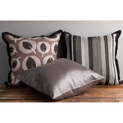 Shine Decorative 18-inch Down Pillows (Set of 3)