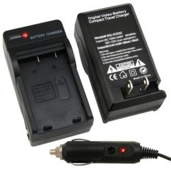 BasAcc Compact Battery Charger Set for Fuji NP-60/ Kodak/ Panasonic
