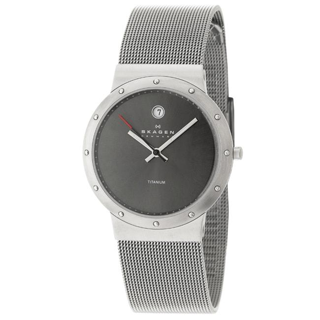 Skagen Men's 'Titanium' Titanium Quartz Watch