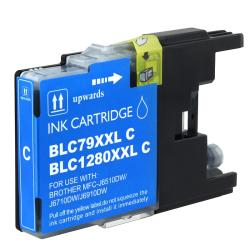 BasAcc Brother compatible LC79C Extra High-yield Cyan Ink