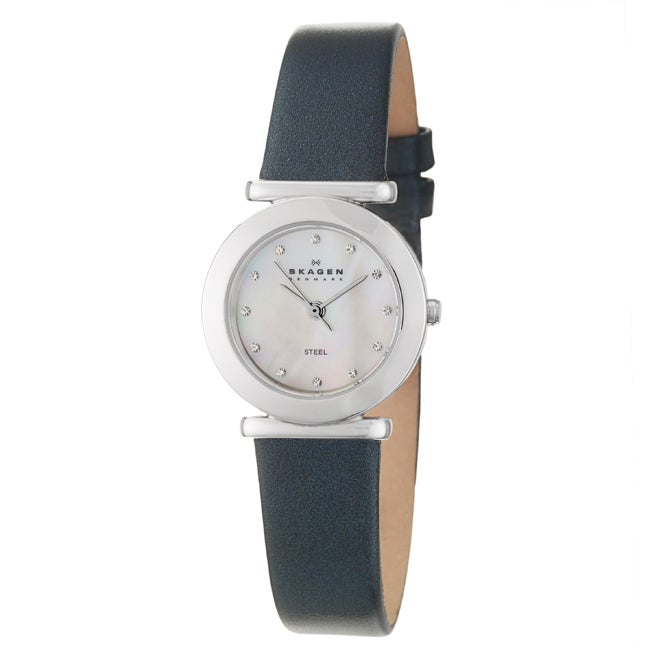 Skagen Women's 'Studio' Stainless Steel Crystals Watch