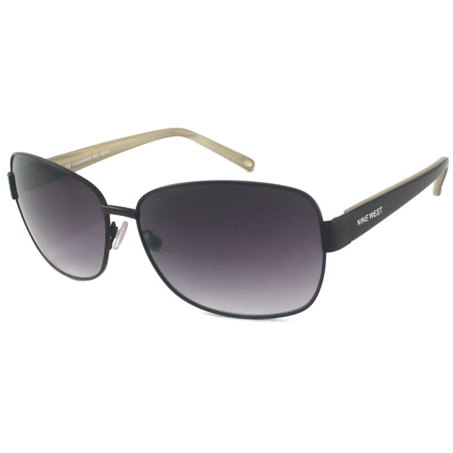 Nine West Women's 'Vivacious' Rectangular Sunglasses