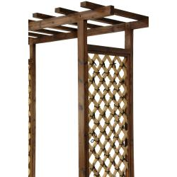 Japanese-Style Bamboo Garden Gate Trellis (China)