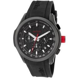 Red Line Men's 'Starter' Black Silicone Watch