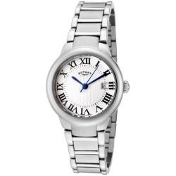 Rotary Women's 'Savannah' Stainless Steel Watch