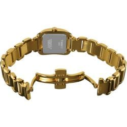 Tissot Women's 'T Wave' Goldtone Stainless Steel Quartz Watch