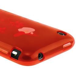 BasAcc Red TPU Case/ LCD Protector/ Headset/ Wrap for Apple iPhone 3GS