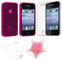 Case/ Screen Protector/ Headset Wrap for Apple iPhone 4S