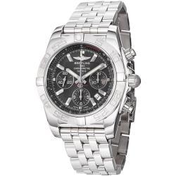 Breitling Men's 'Chronomat B01' Black Dial Chronograph Watch