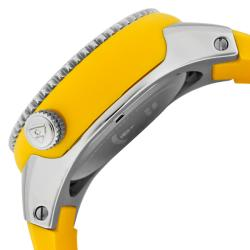 Swiss Legend Men's 'Neptune' Yellow Silicone Watch