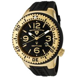 Swiss Legend Men's 'Neptune' Silicone Watch
