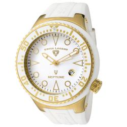 Swiss Legend Men's SL-21848D-YG-02-WHT Neptune White Watch