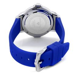 Swiss Legend Women's 'South Beach' Blue Silicone Watch