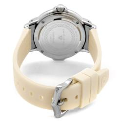 Swiss Legend Women's 'South Beach' Beige Silicone Watch