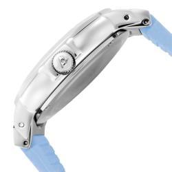 Swiss Legend Women's 'South Beach' Baby Blue Silicone Watch