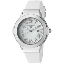 Swiss Legend Women's 'South Beach' White Silicone Watch