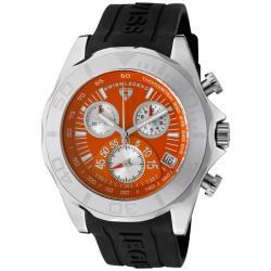 Swiss Legend Men's 'Tungsten' Black Silicone Watch