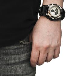 Unlisted Men's Analog and Digital Cuff Watch