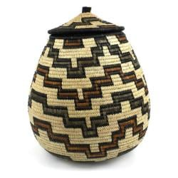 Ukhamba Handmade Beer Basket (South Africa)