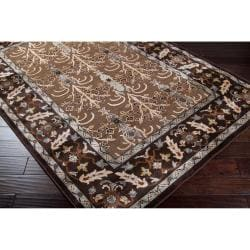 Woven Brown Bassler Viscose Area Rug (7'6 x 10'6)