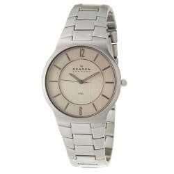 Skagen Men's 'Classic' Stainless Steel Quartz Watch