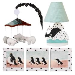 Cotton Tale Arctic Babies Decor Kit