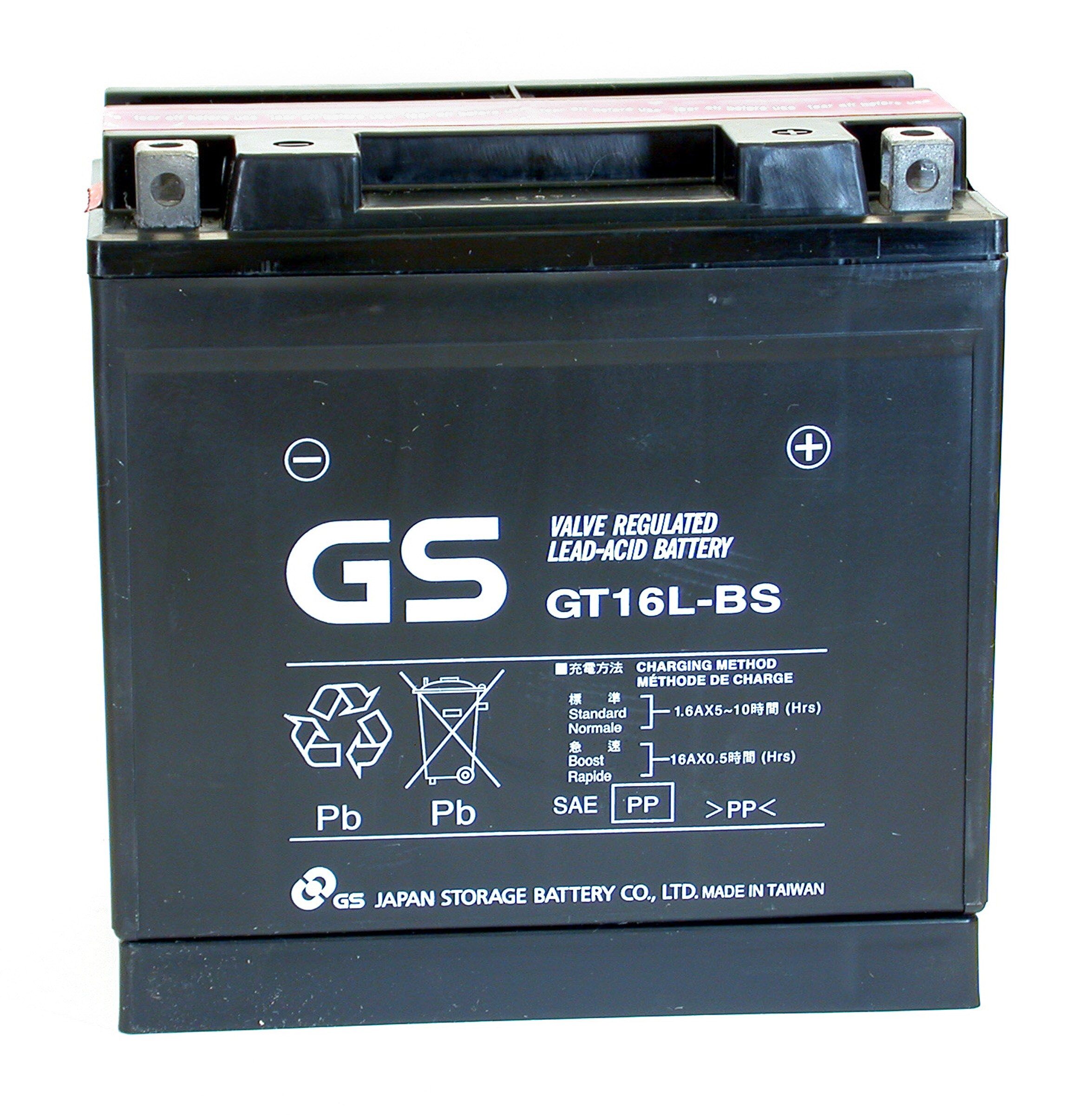 AGM 16L BS Maintenance free Sealed Battery