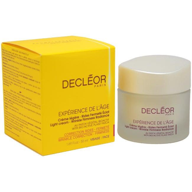 Decleor Experience De L'Age Wrinkle Correction Firmness 1.69-ounce Cream