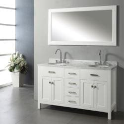 Ashford 60-inch Double-sink Bathroom Vanity Set