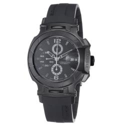 Tissot Men's 'T Race' Black Stainless Steel Rubber Strap Watch