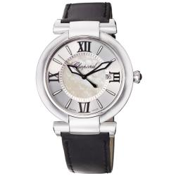 Chopard Women&#39;s &#39;Imperiale&#39; Black Satin Strap Quartz Watch