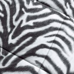 Zebra Full/Queen-size Down Alternative 3-piece Comforter Set