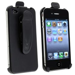 BasAcc Black Swivel Holster for Apple iPhone 4/ 4S