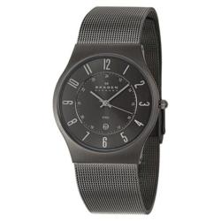 Skagen Men's Grey Steel Watch