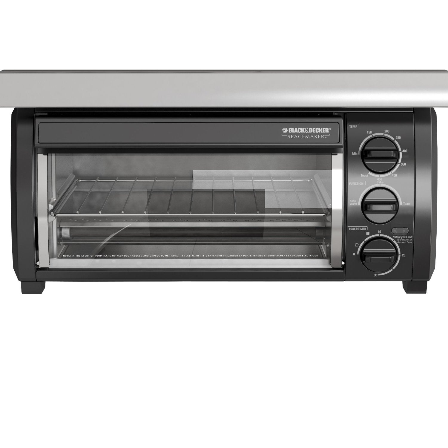 Black & Decker TROS1500 SpaceMaker Traditional Toaster