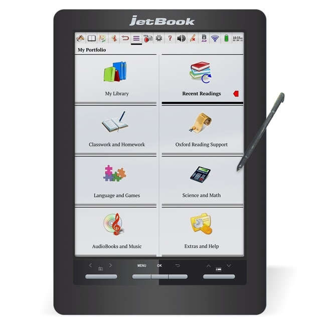 jetBook Color eBook Reader & Tablet